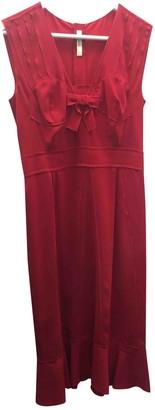 Prada Red Polyester Dresses