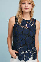 Anthropologie Sleeveless Lace Shell