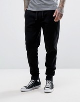Barbour International Cuffed Jogger Slim Fit In Black