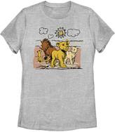 Fifth Sun Women's Tee Shirts ATH - The Lion King Athletic Heather Hakuna Group Crewneck Tee - Women, Juniors & Plus