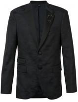 Neil Barrett camouflage trim suit jacket