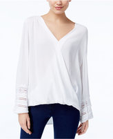 INC International Concepts Surplice Top, Only at Macy's