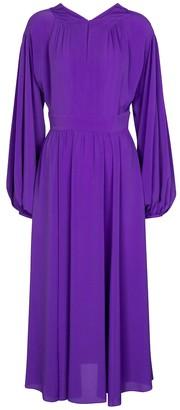 Diane von Furstenberg Hecuba crepe midi dress