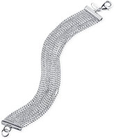 2028 Silver-Tone Multi-Chain Bracelet