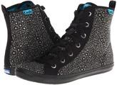 Keds Rookie Loop-De-Loop Leopard (Black) - Footwear