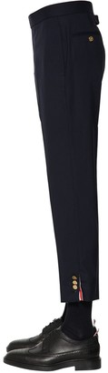 Thom Browne SUPER 120 S WOOL TWILL PANTS