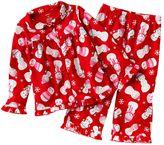 Carter's snowgirls microfleece pajama set - toddler