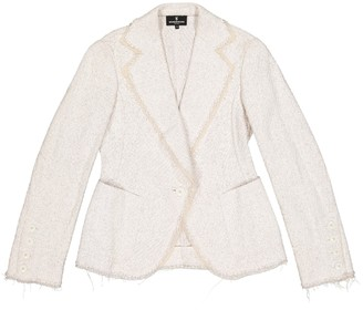 Wunderkind White Cotton Jacket for Women