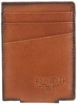 Bill Adler Men's RFID-Blocking Leather Front-Pocket Wallet