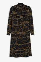 Monki Tie neck dress
