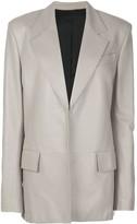 Proenza Schouler oversized leather blazer
