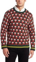 Alex Stevens Men's 8 Bit Santa Ugly Christmas Sweater