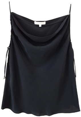 Not Black Silk Tank With Elastic Bungee Cord Straps