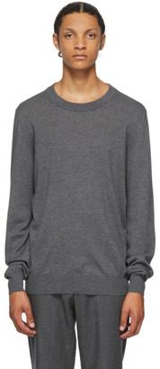 Maison Margiela Grey Wool 14 Gauge Sweater
