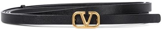 Valentino VLOGO leather belt