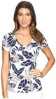 tommy bahama olympias blooms short sleeve tee womens t shirt