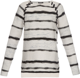 Baja East Long-sleeved cashmere and wool-blend sweater