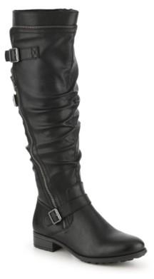 White Mountain Roxy Wide Calf Riding Boot