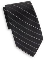 Saks Fifth Avenue Pinstripe Silk Tie