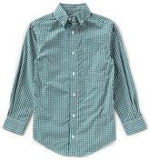 Class Club Big Boys 8-20 Gingham Button-Down Long-Sleeve Shirt