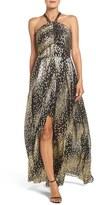 Shoshanna Women's Soho Metallic Georgette Gown