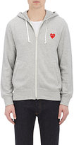 Comme des Garcons Men's Cotton Hoodie-GREY