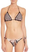 Zimmermann Two-Piece Henna Crochet Bikini