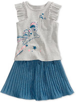 My Little Pony Graphic-Print Tank Top and Skirt Set, Toddler and Little Girls (2T-6X)
