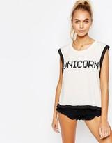 Wildfox Couture Unicorn Pajama Top