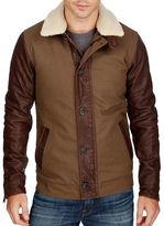 Lucky Brand Leather Flight Jacket