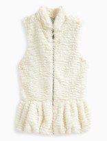 Splendid Girl Faux Fur Vest