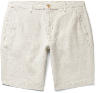 NN07 Crown Linen Shorts