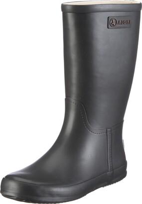 Aigle MANEGE Unisex Kids Wellington Boots Wellington Boots Black (Schwarz) 7.5 UK (25 EU)