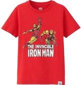 Uniqlo Boys Marvel Graphic Tee