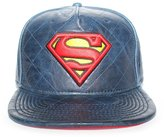 Bioworld Men's Licensed Superman Quilted 3D Embroidered Buckle back Hat O/S