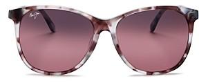 Maui Jim Women's Isola Polarized Square Sunglasses, 58mm