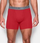 "Under Armour Men's Charged Cotton® Stretch 6"" Boxerjock® – 3-Pack"