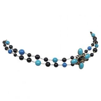 Chanel Blue Chain Belts