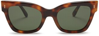 Mulberry Kate Sunglasses Black Acetate