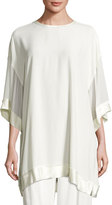 DKNY Oversized Jersey Tunic, Gesso