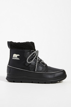 Sorel Explorer Carnival Ankle Boots By in Black Size 6
