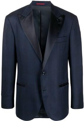 Brunello Cucinelli Satin-Lapel Tuxedo Jacket