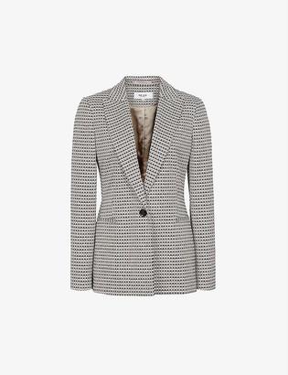 Reiss Astara single-breasted woven blazer
