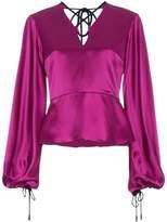 Roksanda Silk tie neck blouse