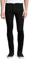 Frame L'Homme Noir Skinny-Leg Jeans, Black