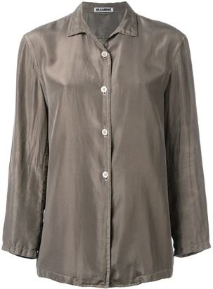 Jil Sander Pre Owned Silk Shirt