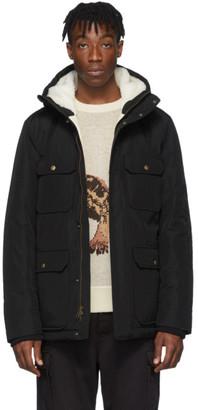Aimé Leon Dore Black Woolrich Edition Mountain Jacket