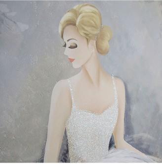 Graham & Brown Beautiful Ballerina Canvas Wall Art