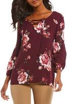 Gibson & Latimer Floral Print Blouse