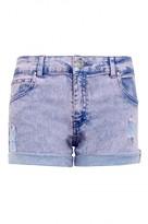 Select Fashion Fashion Womens Blue Sherry Acid Ripped Short - size 6